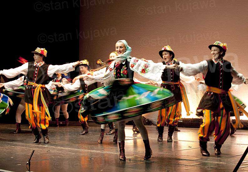 Polish Folk Dancing Festival @Cambridge Corn Exchange 26.02.12. Image ©Stan Kujawa 2012. All Rights Reserved.